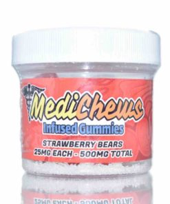 medichews strawberry bears