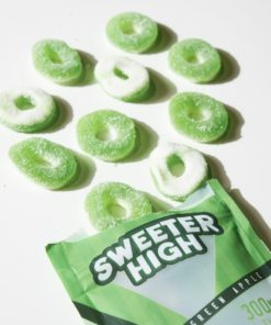 SWEETER HIGH GREEN APPLE RINGS
